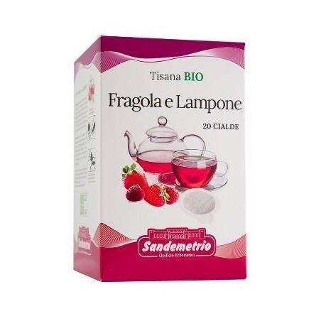 Cialde San Demetrio Fragola e Lampone Bio (20 cialde)