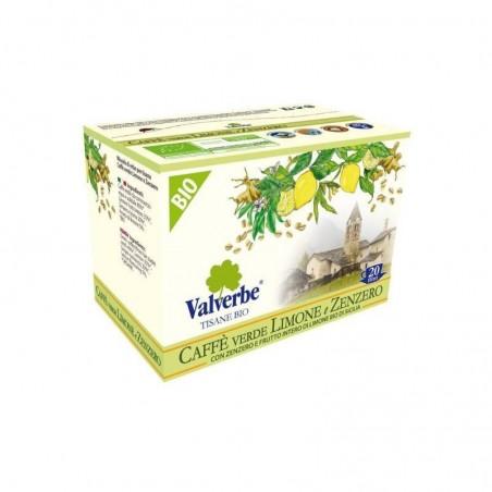 Infuso Valverbe Caffè Verde Limone e Zenzero