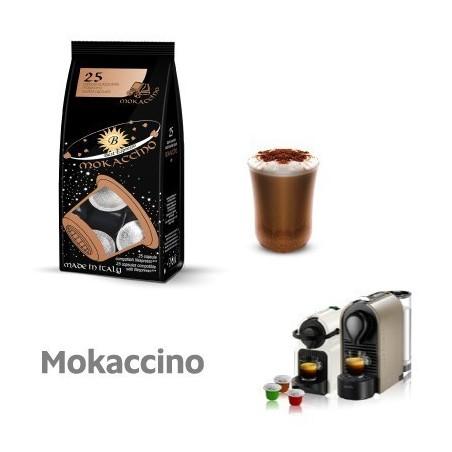 25 Capsule Best Espresso Compatibili Nespresso Mokaccino
