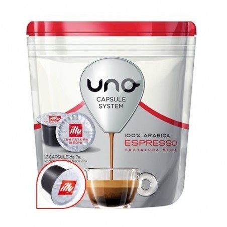 Illy Uno System 100% Arabica Rosso (16 cps)