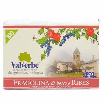 Infuso Fragolina di Bosco e Ribes Valverbe Bio