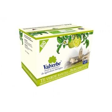 Infuso Te Verde e Bergamotto Valverbe Bio