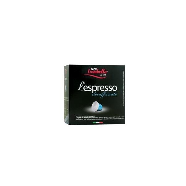 50 Capsule Trombetta Deca Arabica Compatibili Nespresso