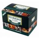 50 bustine Novaroma zucchero aromatizzato Amaretto
