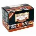 50 bustine Novaroma zucchero aromatizzato Nocciola