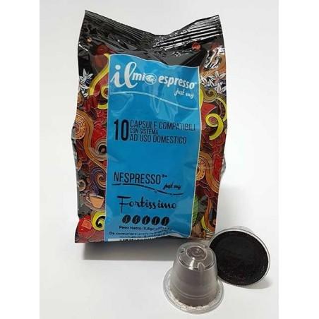 80 Capsule Compatibili Nespresso Il Mio Espresso Fortissimo