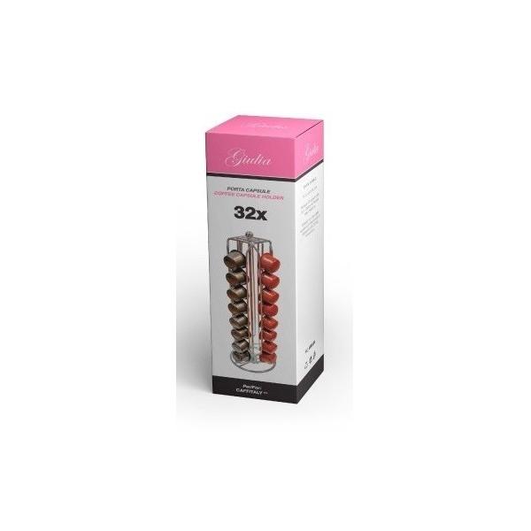 Portacapsule Per Nespresso Giulia (32 Capsule)