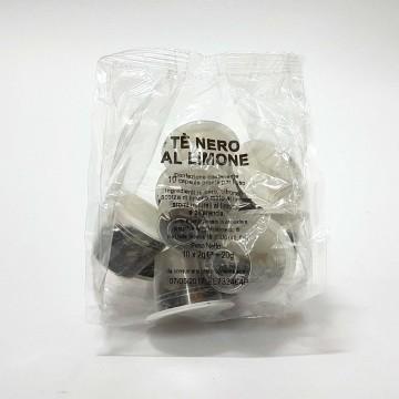 10 capsule Tè Nero al Limone IME Compatibili Nespresso