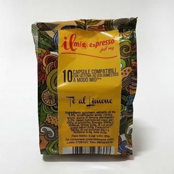 10 Compatibili A Modo Mio Te al Limone Solubile Il Mio Espresso