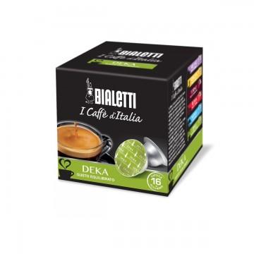 Bialetti Decaffeinato (16 capsule) - I caffè d'Italia