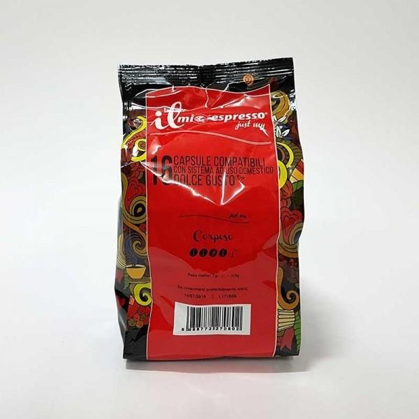 Compatibile Dolce Gusto Il Mio Espresso Corposo Premium (16 capsule)