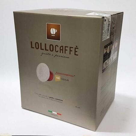 100 Capsule Lollo Compatibili Nespresso Decaffeinato