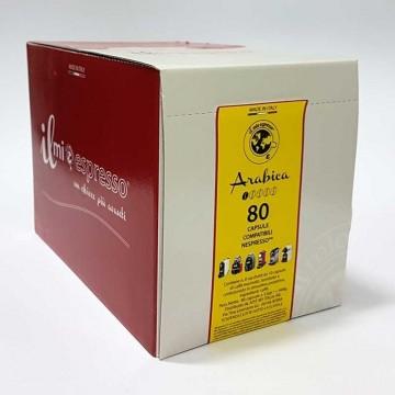 100 compatibili Nespresso Ristretto (100% Arabica) Il Mio Espresso