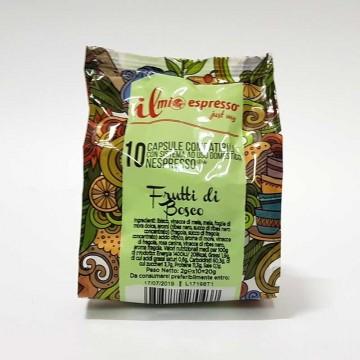 10 capsule Infuso Frutti di Bosco IME Compatibili Nespresso