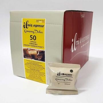 50 Compatibili Point Il Mio Espresso Ginseng Dolce Spedizione Gratuita