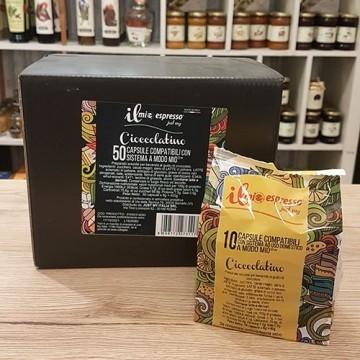Capsule Compatibili A Modo Mio Mini Cioccolata Solubile Il Mio Espresso
