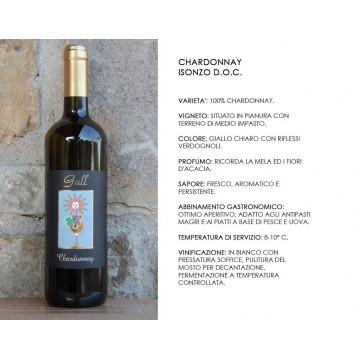 Chardonnay Gall Scheda Tecnica