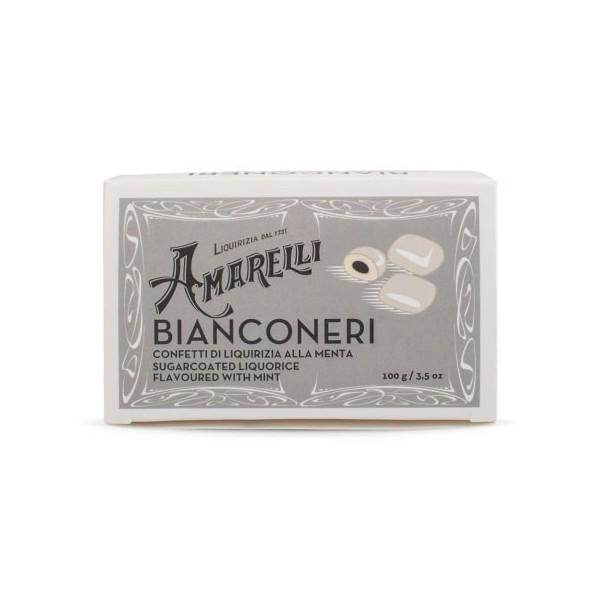 Liquirizia Amarelli Bianconeri 100 grammi