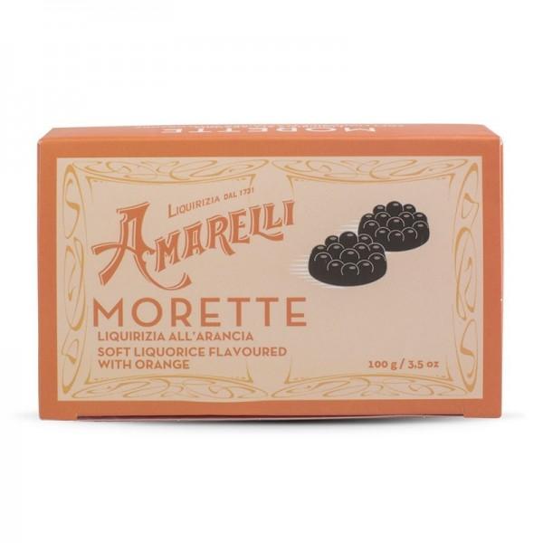 Liquirizia Amarelli Morette all'Arancia 100 grammi