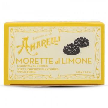 Liquirizia Amarelli Morette al Limone 100 grammi
