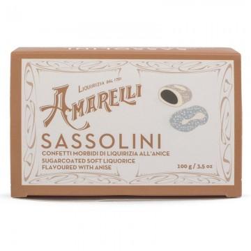 Liquirizia Amarelli Sassolini all'Anice 100 grammi