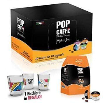 100 Compatibili Uno System Pop Caffè Intenso