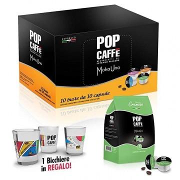 100 Compatibili Uno System Pop Caffè Cremoso