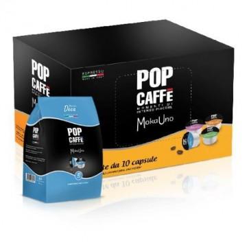 100 Compatibili Uno System Pop Caffè Decaffeinato