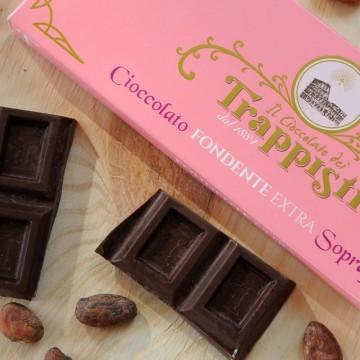 Tavoletta Cioccolata Fondente 50% Frati Trappisti 150 grammi