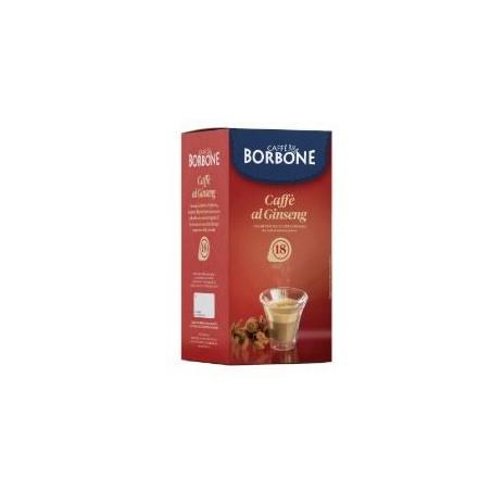 18 Cialde Caffè Borbone Caffè al Ginseng