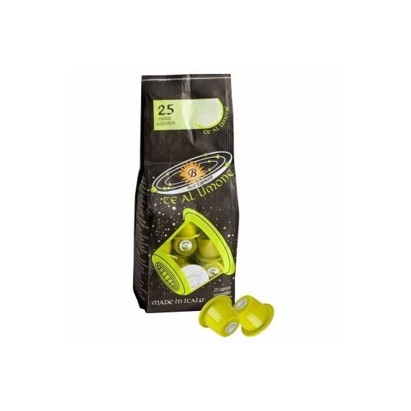 25 Capsule Best Espresso Compatibili Nespresso di Tè al limone