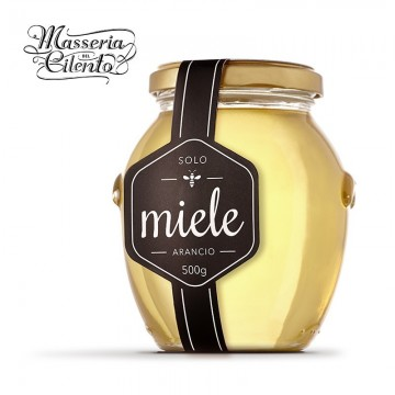 Miele di Arancio Masseria del Cilento 500 grammi