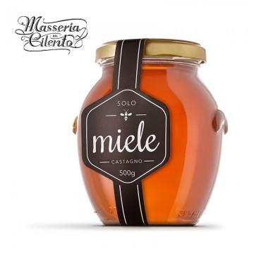 Miele di Castagno Masseria del Cilento 500 grammi