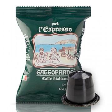 100 Capsule Gattopardo Decaffeinato per Nespresso