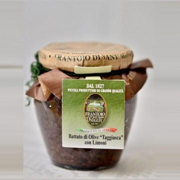 Battuto Olive Taggiasche e Limoni Frantoio di Oneglia 180 grammi