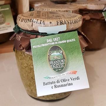 Battuto Olive Verdi e Rosmarino Frantoio di Oneglia 180 grammi