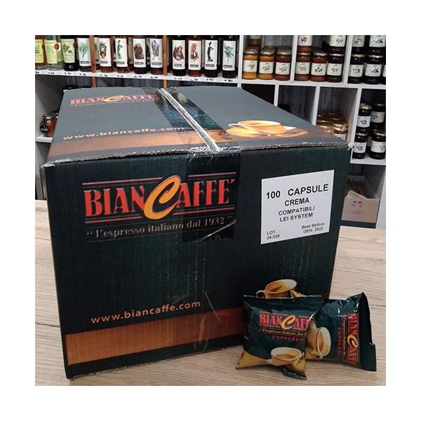 100 Compatibili Lui L'Espresso®* Fior Fiore®* Biancaffè Crema