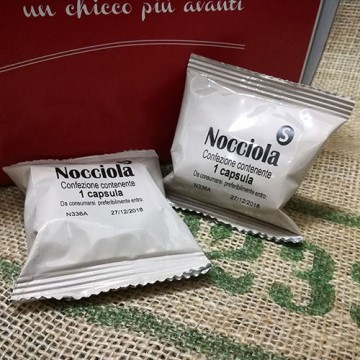 50 Capsule Nocciolino Il Mio Espresso System