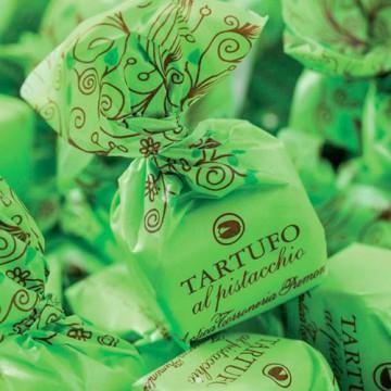 Tartufi Dolci al Pistacchio Antica Torroneria Piemontese 100 gr