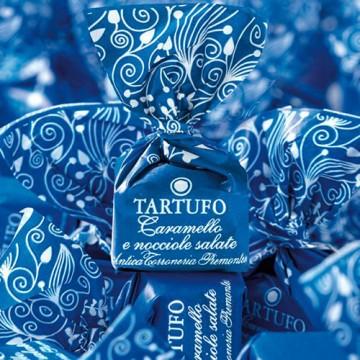 Tartufi Dolci Caramello e Nocciole Salate Antica Torroneria Piemontese 100 gr