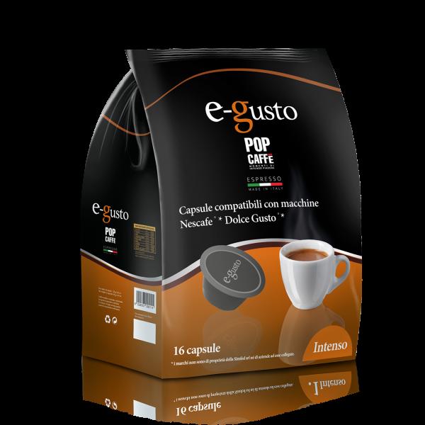 16 Compatibili Dolce Gusto Pop Caffè Intenso