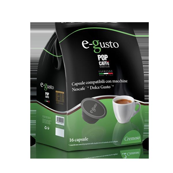 16 Compatibili Dolce Gusto Pop Caffè Cremoso