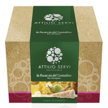 Focaccia del Contadino Attilio Servi 750 grammi