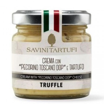 Crema Pecorino Toscano DOP e Tartufo 90 grammi