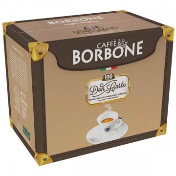 100 Capsule Compatibili A Modo Mio Don Carlos Borbone Blu