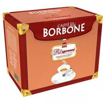 100 Capsule Borbone Nero Compatibili Nespresso