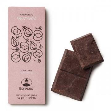 Tavoletta Cioccolato con Fruttosio 50 gr Bonajuto