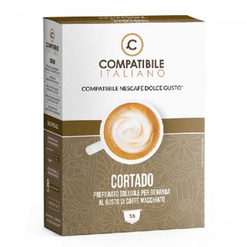 Compatibili Nescafé Dolce Gusto Cortado (16 capsule)
