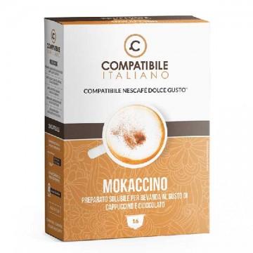 Compatibili Nescafé Dolce Gusto Mokaccino (16 capsule)