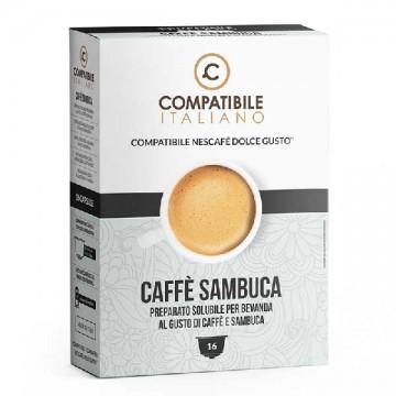 Compatibili Nescafé Dolce Gusto Caffè Sambuca (16 capsule)